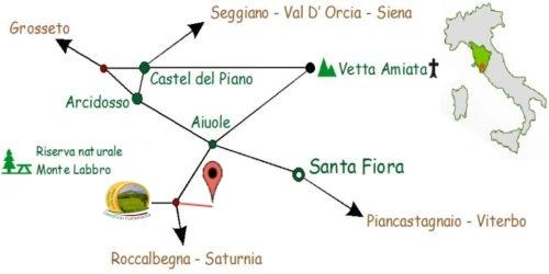 cartina stradale agriturismo antee