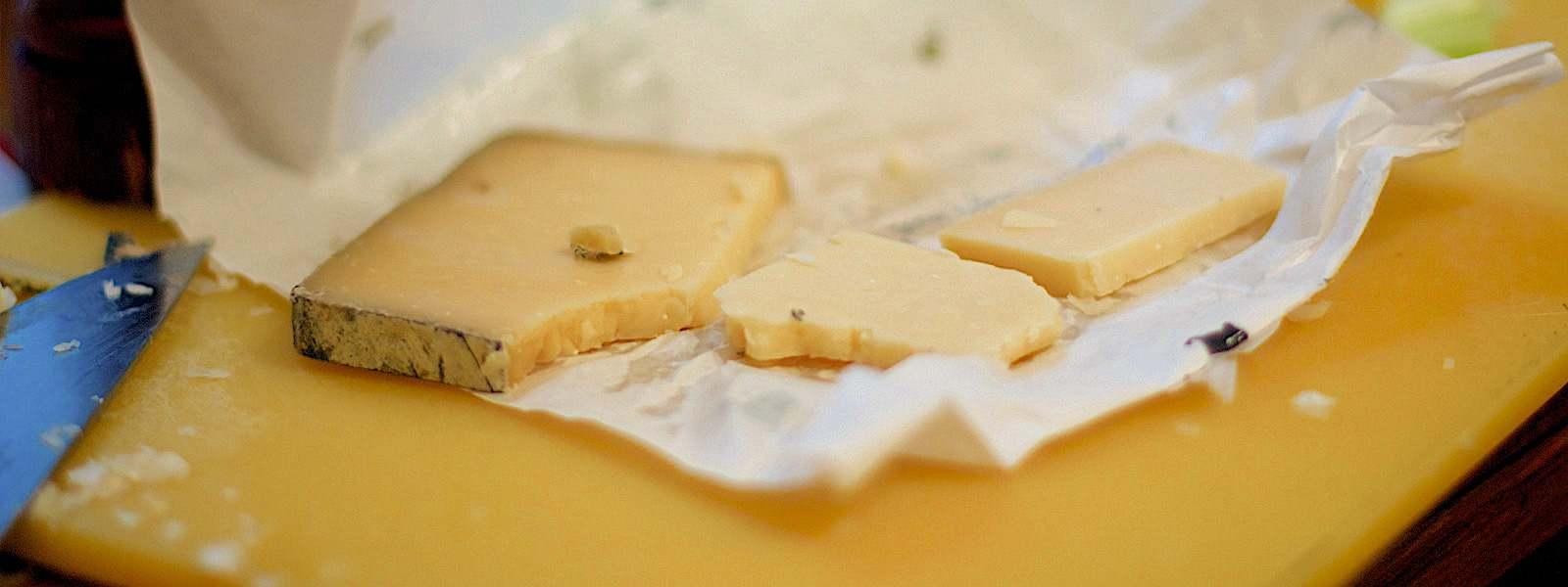 a sfondo formaggio